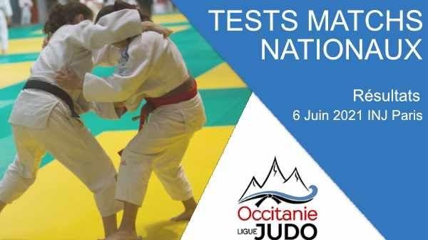 Résultats Tests Matchs Nationaux - 6 Juin 2021